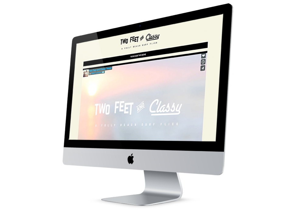 Two Feet and Classy Website